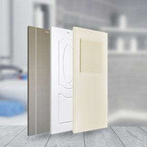 how to match a new door to your bathroom