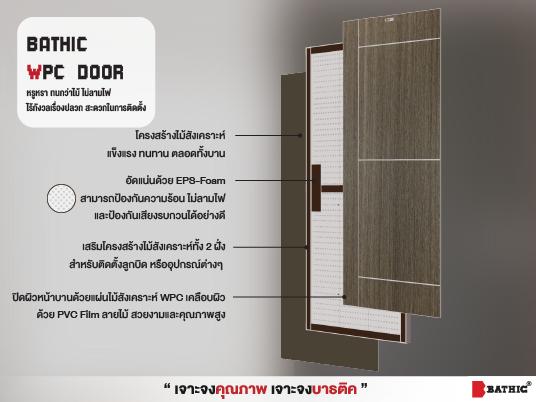 bathic WPC door